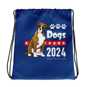 Dogs 2024 Drawstring bag