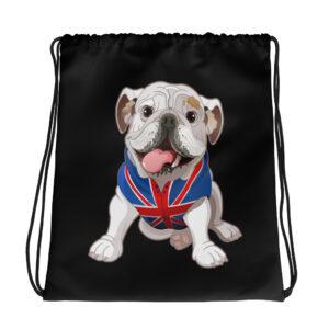 English Bulldog Drawstring bag