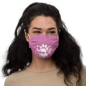 Dog Mom Premium face mask