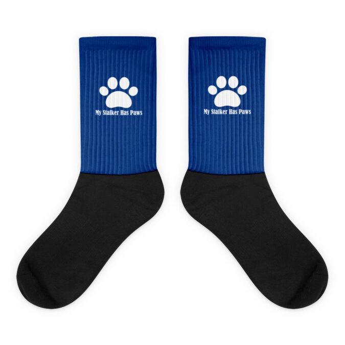 My Stalker Has Paws Socks
