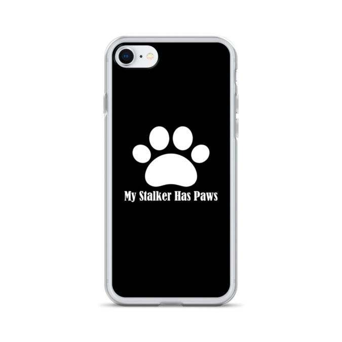 My Stalker Has Paws iPhone Case