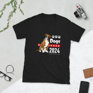 Dogs 2024 Short-Sleeve Unisex T-Shirt