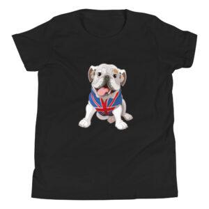 English Bulldog Youth Short Sleeve T-Shirt
