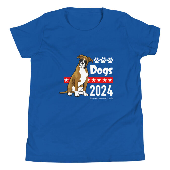 Dogs 2024 Youth Short Sleeve T-Shirt