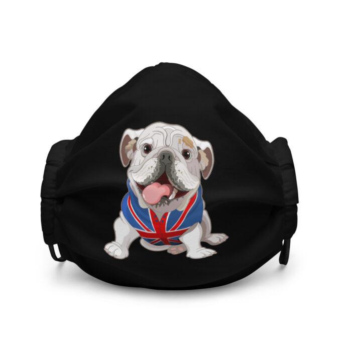 English Bulldog Premium face mask